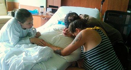 hospital birth support