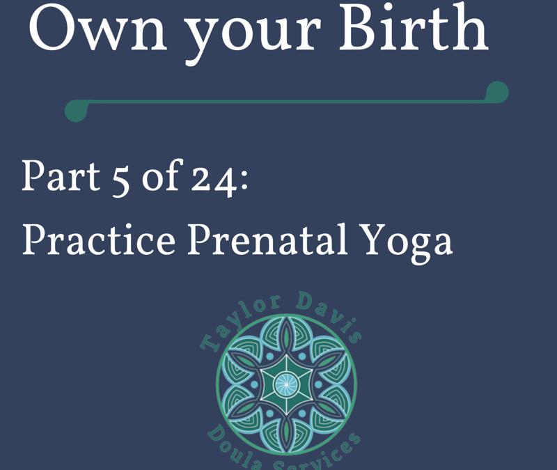 A Story about Prenatal Yoga