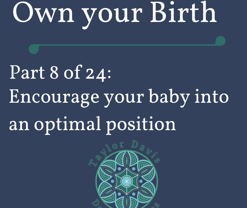 Optimal Fetal Positioning for an Easier Birth